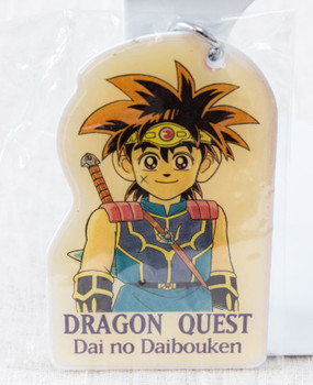 RARE! Dai no Daibouken Dragon Quest Plate Key Holder Shonen Jump JAPAN ANIME