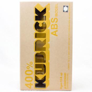 Kubrick 400% ABS Model Yellow Figure Medicom Toy JAPAN