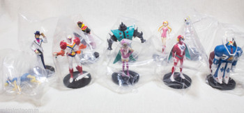 Set of 10 Tatsunoko 40th Anniversary Hero Collection Figure JAPAN Casshern Tekka