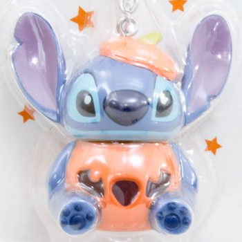 Disney Stitch Halloween Ver. Mascot Figure Light Key Chain Sanrio JAPAN ANIME
