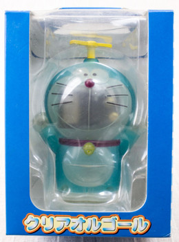 Doraemon Figure type Music Box Clear Blue Ver. OP Theme Song JAPAN ANIME  FUJIO
