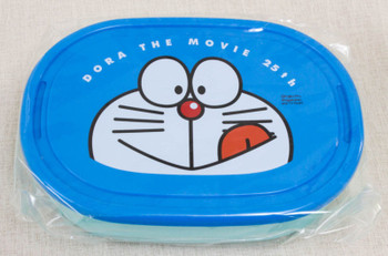 Doraemon Lunch Box w/Bandana Face Ver. JAPAN ANIME MANGA FUJIO