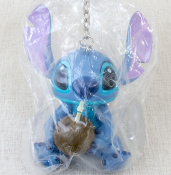 Disney Stitch Big Size Mascot Figure Key Chain SEGA JAPAN ANIME