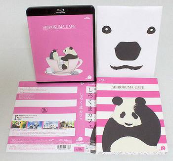 Shirokuma Cafe Vol.2 Animate limited Blu-lay&CD+Coaster JAPAN ANIME
