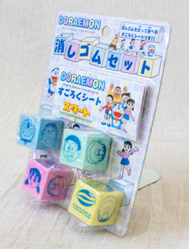 Doraemon Cube Eraser Set Showa Note JAPAN ANIME MANGA FUJIO