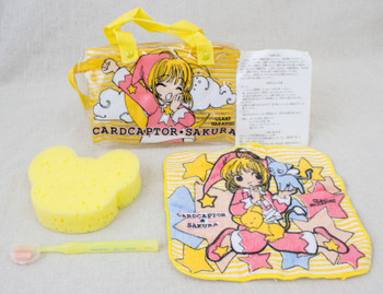 Cardcaptor Sakura Mini Bag Pouch Toiletries Goods Towel JAPAN ANIME MANGA