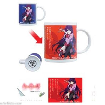 Bakemonogatari Color Change Mug Cup Hitagi Senjogahara Ver. Taito JAPAN ANIME