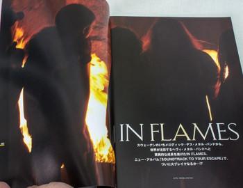 2004 Vol.14 BASTARDS! BURRN!  Japan Magazine IN FLAMES/IRON MAIDEN/DAMAGEPLAN
