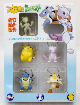 Pokemon Figure Keychain 5pc Set 1998 JAPAN ANIME MANGA POCKET MONSTERS