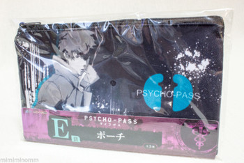 Psycho-Pass Shinya Kougami Shogo Makishima Pouch Mini Bag Taito Kuji JAPAN ANIME