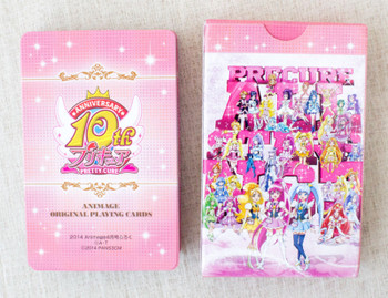Precure Pretty Cure All Star Trump Playing Cards 10th Anniversary JAPAN ANIME