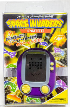 Space Invaders Part 2 LCD Mini Game Purple EPOCH JAPAN GAME