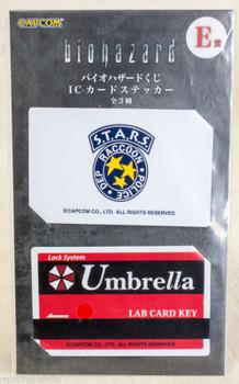 Biohazard Card Type Sticker Set Capcom 1 JAPAN GAME