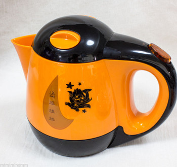 Disney Stitch Electric Kettle 1.2L Halloween Orange Ver. Sanrio JAPAN ANIME