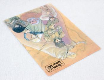 Record of Lodoss War Plastic Pencil Board Pad Shitajiki JAPAN ANIME MANGA