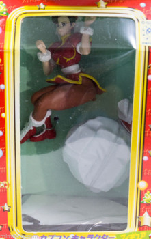 Set of 4 Capcom Christmas Santa Copsplay Figure CHUN-LI MORRIGAN CAMMY JAPAN
