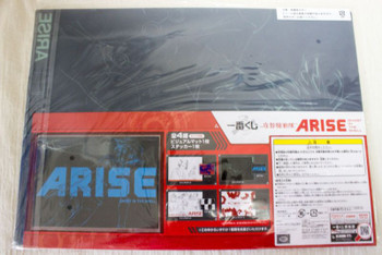 Ghost in the Shell ARISE Visual Mat & Sticker Set Banpresto 3 JAPAN ANIME MANGA