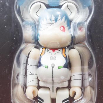 Evangelion:1.0 Be@rbrick Bearbrick Set B Rei Ayanami Figure Medicom ANIME