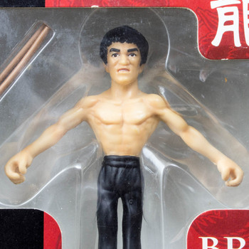 BRUCE LEE Bendable figure Banpresto JAPAN KUNG FU MOVIE ENTER THE DRAGON