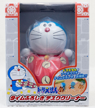 Doraemon Figure Time Furoshiki Desk Cleaner Taito JAPAN ANIME MANGA