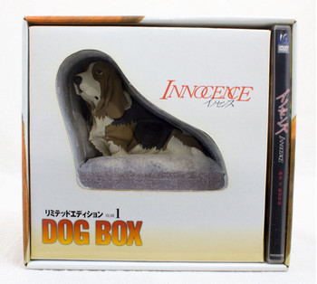 Innocence DVD limited GABRIEL Dog Music Box Figure JAPAN Ghost in the Shell