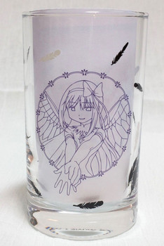 RARE! Puella Magi Madoka Magica Devil Homura Ver. Glass Lawson Limited JAPAN
