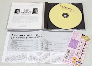 JULIE ANDREWS The Lass with the Delicate Air  Japan CD K2 24bit BVCJ38195