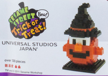 Super RARE!! Sesame Street Elmo 2011 Halloween USJ Kawada Nanoblock JAPAN FIGURE