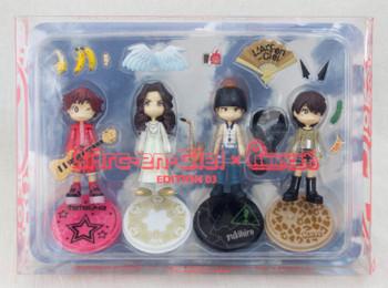 RARE! L'Arc~en~Ciel Pinky Street Figure Set ED3 JAPAN ROCK BAND HYDE