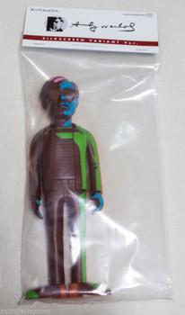 Andy Warhol Vinyl Silkscreen Valiant Ver.  Figure Medicom Toy VCD JAPAN