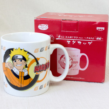 RARE! NARUTO MUG Naruto Uzumaki Banpresto JAPAN ANIME MANGA JUMP