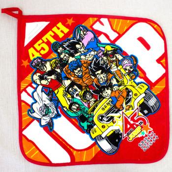 "Shonen Jump 45th 13"" Towel Dragon Ball ONE PIECE Toriko Bandai JAPAN MANGA"