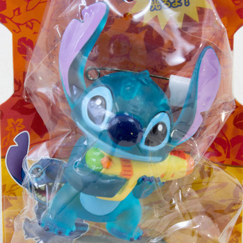 Disney Stitch Mascot Figure Flashing Pins Badge SEGA JAPAN ANIME