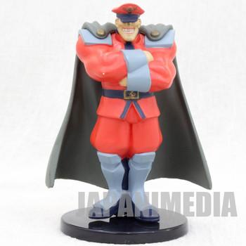 RARE! Street Fighter 2 Bison (VEGA) Capcom Character Mini PVC Figure JAPAN GAME