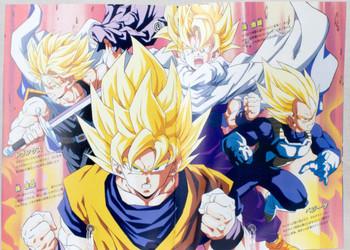 Dragon Ball Z Dr Slump Movie Program Art Book 1993 JAPAN ANIME MANGA 2