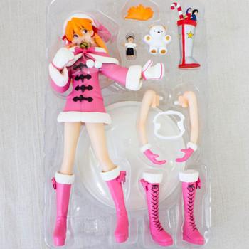 Evangelion Asuka Langley Santa Cosplay Figure Limited Pink Ver. JAPAN ANIME