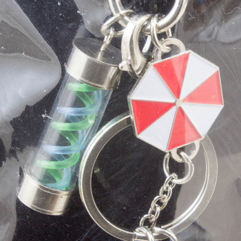 Biohazard 3 Umbrella T-Virus Mascot Key Chain Theater Limited JAPAN