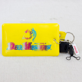 Duel Masters Trading Card Case Yellow Wizards of the Coast JAPAN ANIME MANGA