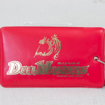 Duel Masters Trading Card Case Red Wizards of the Coast JAPAN ANIME MANGA