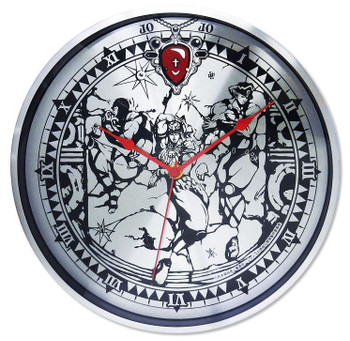 JoJo's Bizarre Adventure Full Metal Wall Clock Part.2 Men of Pillar JAPAN ANIME