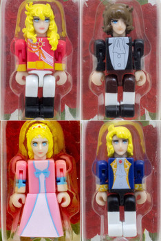 RARE Complete set of The Rose of Versailles Tinibiz Mini Figure SEGA ANIME MANGA