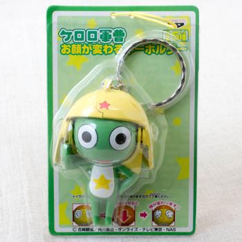 Keroro Gunso Changing Face Keroro Figure Key Chain JAPAN ANIME MANGA