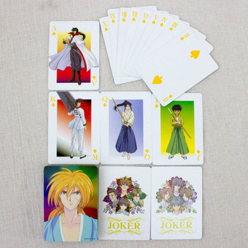 RARE! Rurouni Kenshin Trump Playing Cards JAPAN ANIME MANGA