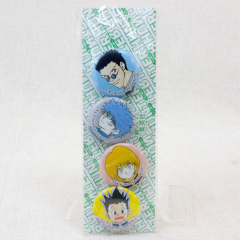 RARE! HUNTER x HUNTER Pins Set Curarpikt Gon Killua Leorio JAPAN ANIME JUMP