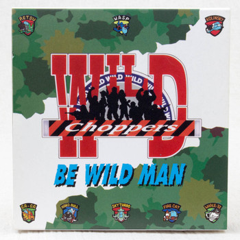 RARE! Wild Choppers Be Wild Man Pins 8pc set Seta 1997 Nintendo 64 GAME