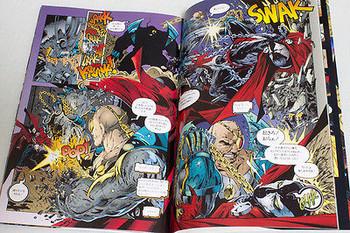 SPAWN 2 Todd McFarlane Comic Japanese Language JAPAN