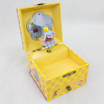 RARE! Disney Dumbo Music Box Accessories Case Song Casey Jr. ANIME