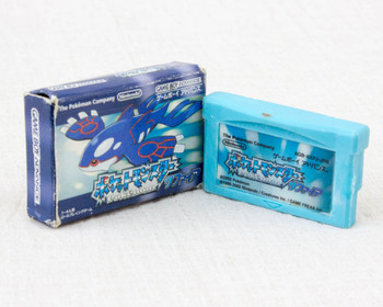 RARE! Pokemon Game Boy Soft Type Mini Eraser Nintendo JAPAN POKET MONSTERS