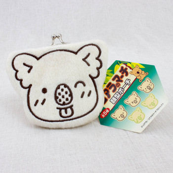 Koala's March Face Type Coin Case Mini Pouch Furyu JAPAN FOOD LOTTE 2