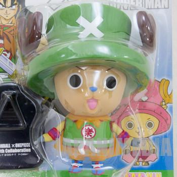 Dragon Ball Z x ONE PIECE Chopper Man x Yamcha Sofubi Figure JAPAN ANIME